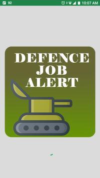Defence Job Alert poster
