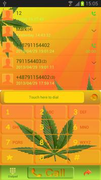 Weed Ganja - GO Contacts Theme poster