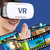 VR Video Player Live - Full HD Media Play Videos icon