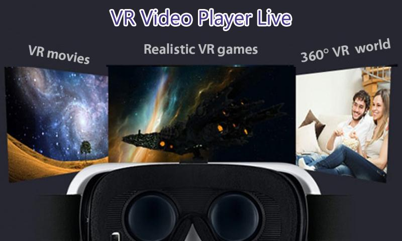 VR Video Player Live - Full HD Media Play Videos for Android