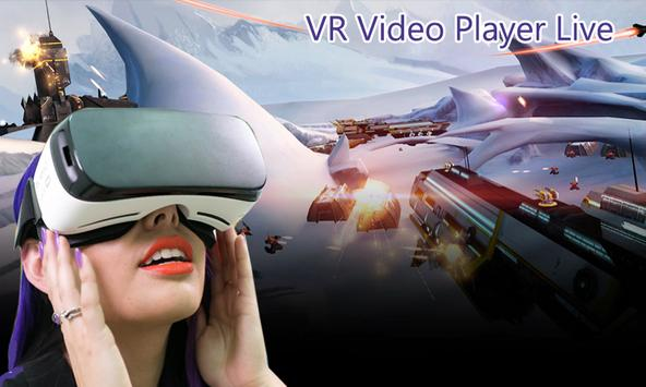 VR Video Player Live - Full HD Media Play Videos poster