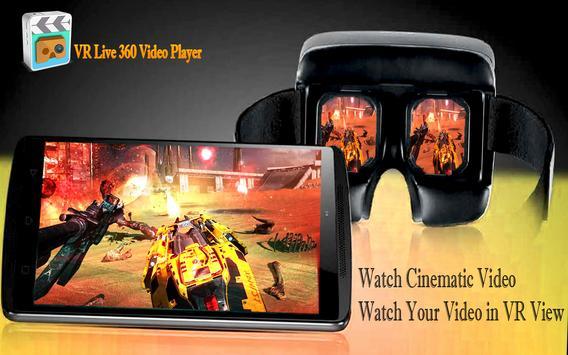 VR Live Videos Player apk screenshot
