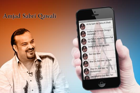 Amjad Sabri Naats apk screenshot