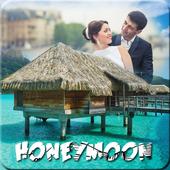 Honeymoon Photo Frame icon