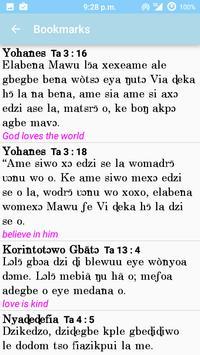 Ewe Biblia apk screenshot