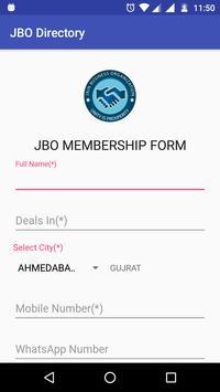 JBO Directory poster