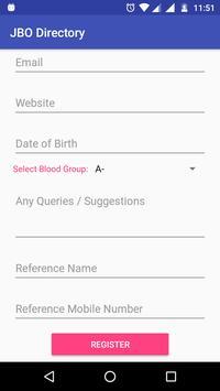 JBO Directory screenshot 1