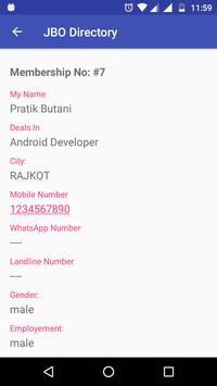 JBO Directory screenshot 6