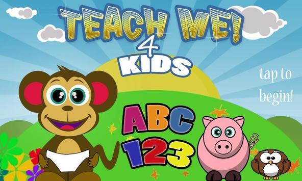 Teach Me 4 Kids ABC 123 poster