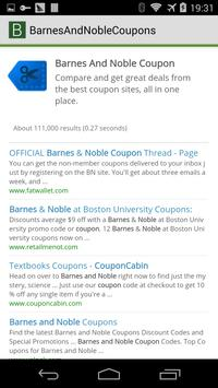 Barnes And Noble Coupons apk screenshot