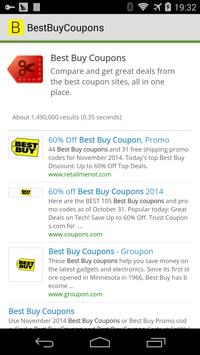 Best Buy Coupons poster