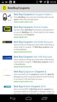 Best Buy Coupons apk screenshot
