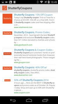 Shutterfly Coupons poster
