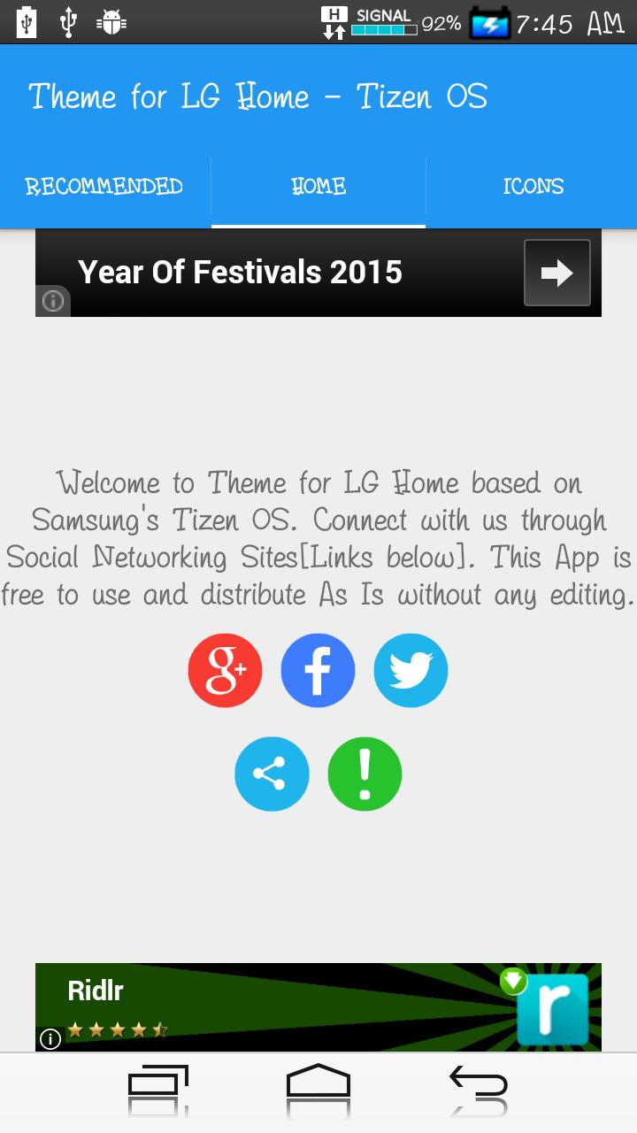 Theme for LG Home - TizenOs for Android - APK Download