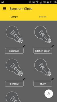 Spectrum Pro Lighting Control apk screenshot