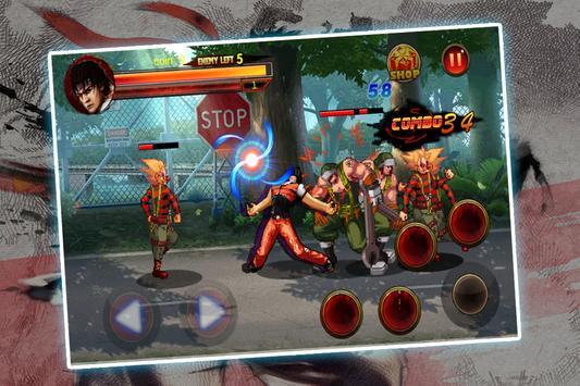 Kungfu Fighter in the street screenshot 1