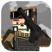 Cally Duty Blocky Warfare FPS icon