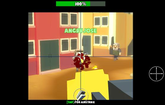 Cally Duty Blocky Warfare FPS apk screenshot