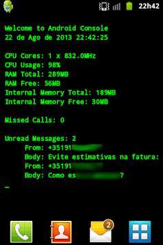 Geek Wallpaper - CPU+RAM INFO apk screenshot