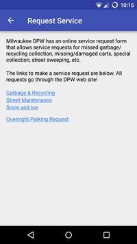 Milwaukee Garbage Schedule screenshot 2