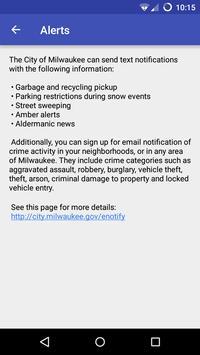 Milwaukee Garbage Schedule screenshot 3