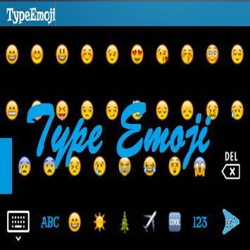 TypeEmoji - Keyboard poster