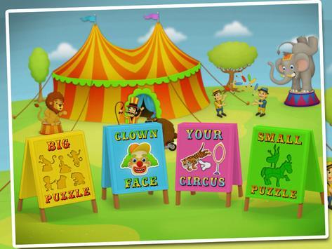 Fun at the circus lite poster