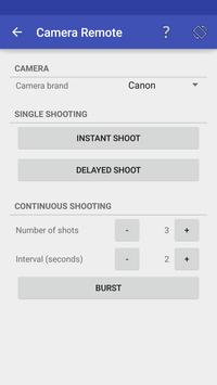 Camera Remote Free apk screenshot