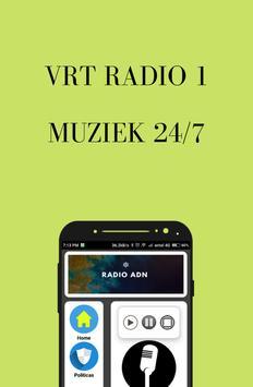 VRT Radio 1  Online FM screenshot 1