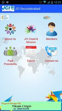 JCI Secunderabad poster