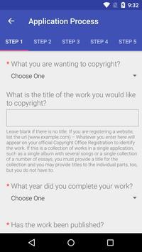 Copyright Go apk screenshot