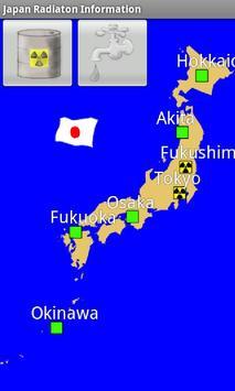 Japan Radiation Information poster