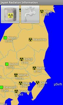 Japan Radiation Information apk screenshot