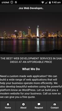 jco web development poster