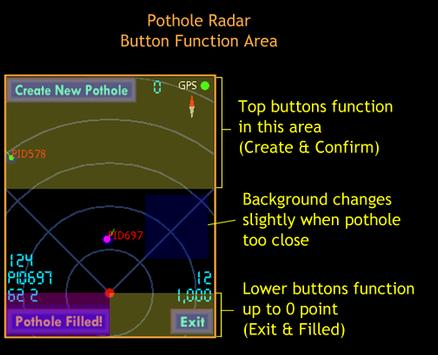 Pothole Radar apk screenshot