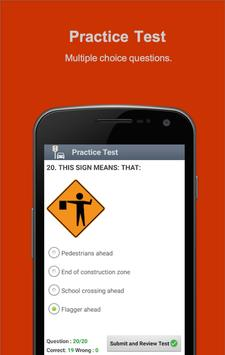 Road Signs & Practise Test USA screenshot 4
