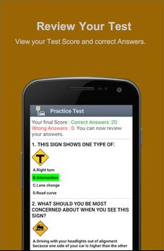 Road Signs & Practise Test USA screenshot 5