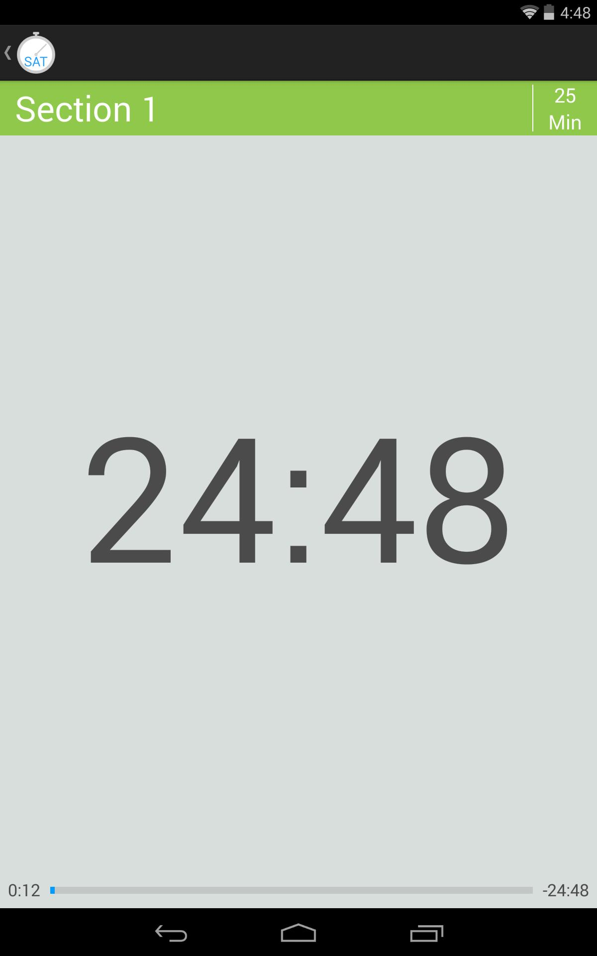 SAT Practice Test Timer for Android - APK Download