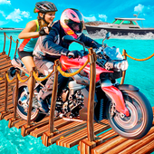 Beach Moto Bike Stunt Rider icon