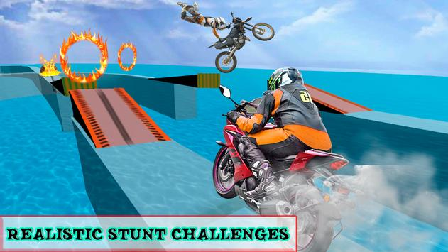 Beach Moto Bike Stunt Rider screenshot 2
