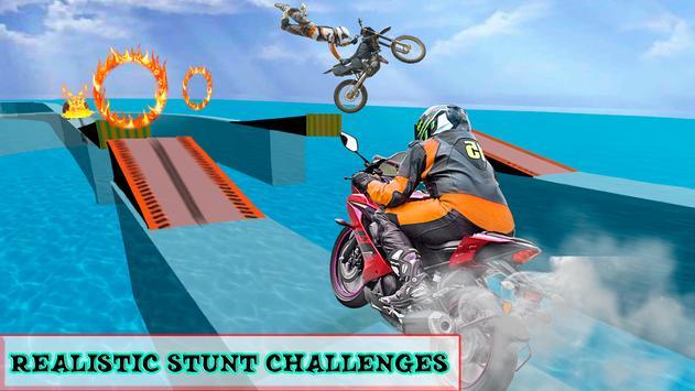 Beach Moto Bike Stunt Rider screenshot 5
