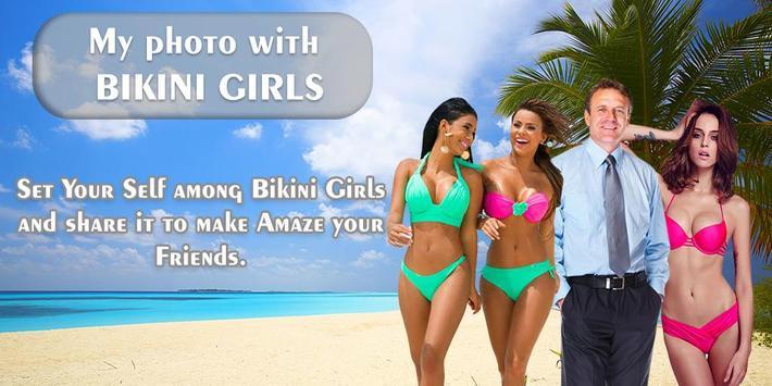 My Photo With Bikini Girls apk screenshot