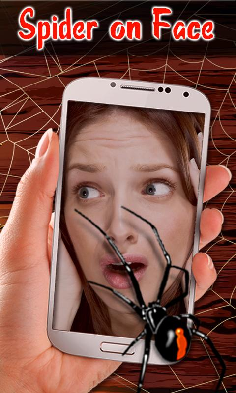 Spider On Body Face Prank Cam For Android Apk Download