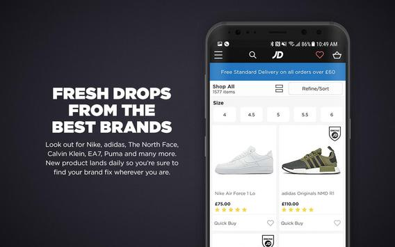 JD Sports screenshot 4