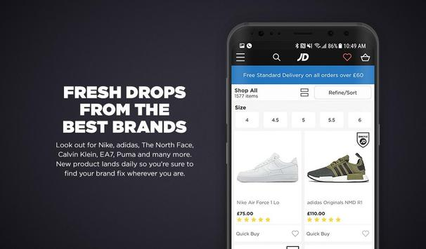 JD Sports screenshot 8