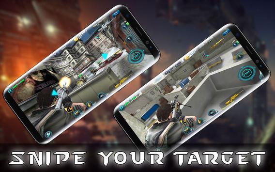 Sniper Fury 3D Killer Assassin Gun Shooting Games screenshot 8