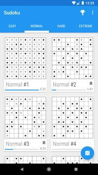 Material Sudoku screenshot 2