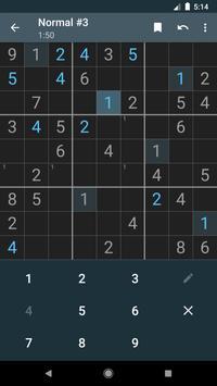 Material Sudoku screenshot 3