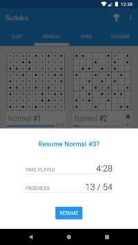 Material Sudoku screenshot 4
