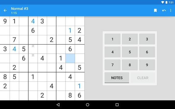 Material Sudoku apk screenshot